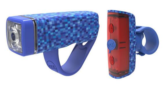 Knog POP Duo fietsverlichting Twinpack blauw